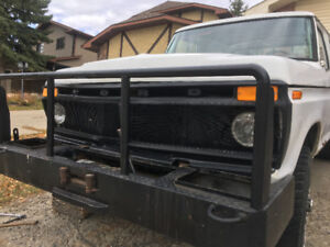 1976 Ford crew cab, 4x4 trade for diesel truck
