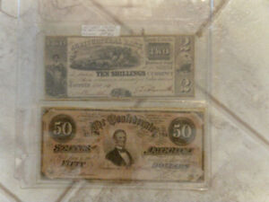 canadian silver collection banknotes and other