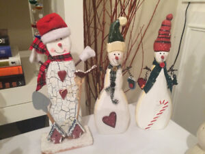 Christmas Snowmen Collection - all types!