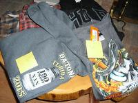Daytona Moonshine Hoodie, Harley Pullover and Syracuse Jacket