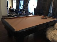 Table de Billard / Pool table. Valeur originale 5000$