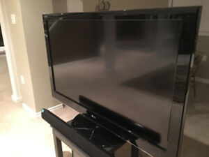 55 inch tv by LG with base