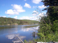 1 acre lot approx 200' on Montreal river in Matachewan.