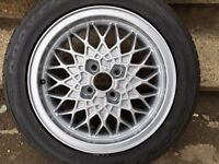 Genuine German BBS alloys