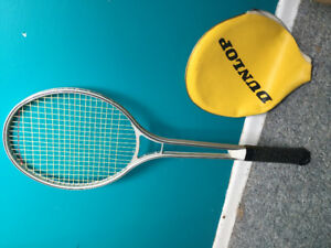 Tennis racquet with bag