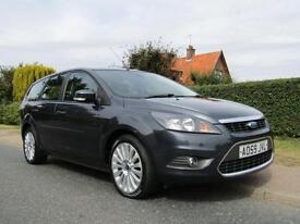 2009 Ford Focus 1.8 TDCi TITANIUM 5DR TURBO DIESEL ESTATE ** 47,000 MILES * 1...