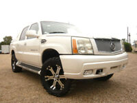 FRESH IMPORT CADILLAC ESCALADE EXT V8 CREW CAB PICKUP AUTOMATIC WHITE