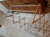 Handy Wood Drying Rack