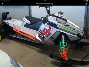 ***Parting Out '13 Polaris Pro 800 RMK***
