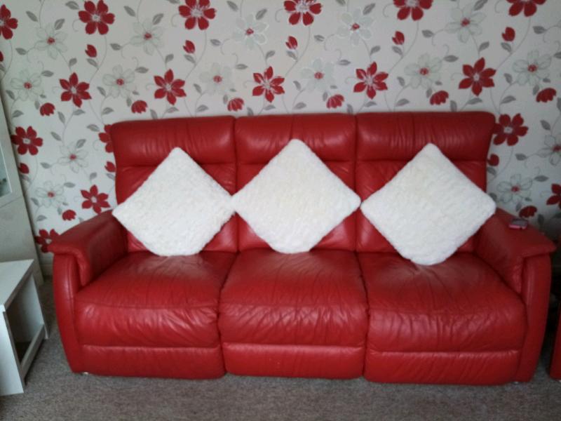 3 piece leather suite | in Kingswood, Bristol | Gumtree