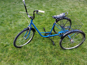 "24"" Norco 3 wheel 3 speed bike trike"
