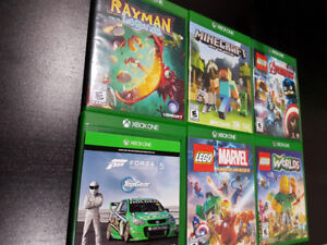 Xbox one 500gb+controllers+6games+microphone