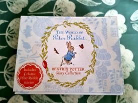 Beatrix Potter 5 book box set.
