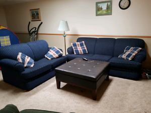 Couch, love seat and end tables