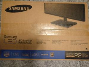 """22"""" samsung computer monitor"""