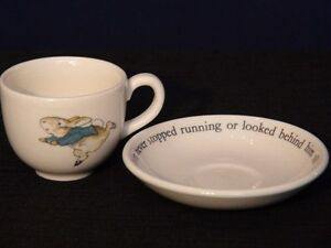Wedgwood Peter Rabbit Miniature Cup and Saucer London Ontario image 1