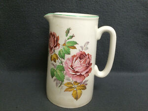 Collectible Antique Elijah Cotton Lord Nelson Ware Pitcher London Ontario image 1