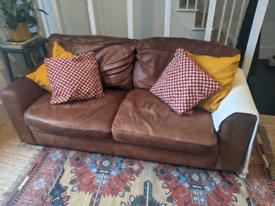 FREE vintage leather sofa