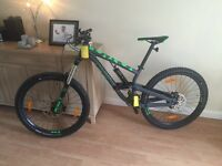 Scott voltage fr730 2016 downhill bike
