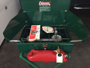 Coleman Stove Vintage | Kijiji - Buy, Sell & Save with Canada's #1