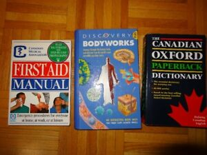 3 Books in Great Condition
