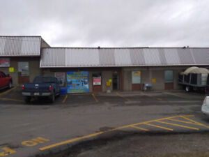 3600 sq/ft WARM industrial space & small office + 2 drive doors!