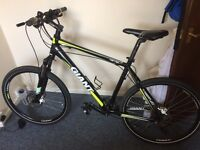 Giant bicycle mountain bike as new