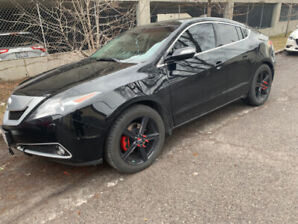 2010 Acura ZDX super rare suv in mint shape with 3 sets of rims