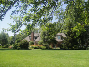 Lake Erie Sandy Waterfront Executive Home on 170 ft. Frontage