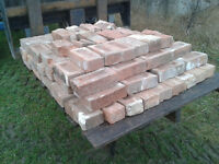 Red Clay Bricks from a old farm house For sale