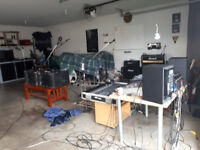 Rehearsal/Jam/Recording Space