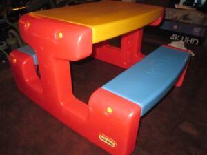 Jouet Table a picnic enfant