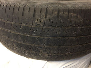 4 all saeon tires for sale - P235 /60R17
