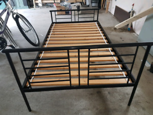 Twin Bed Frame With Mattress $75