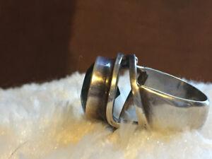 Italian sterling ring.  Vintage.