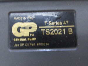 New General pressure washer pump London Ontario image 3