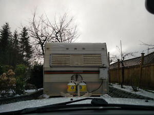 1975 Edson 18 ft trailer