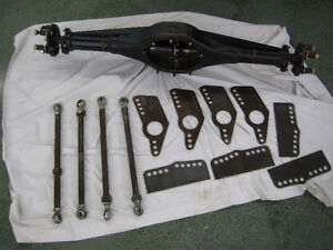 9-inch Ford Rear-End Housing, Axles, 4-Link Kit