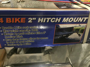 4-Bike Carrier - Hitch Mount