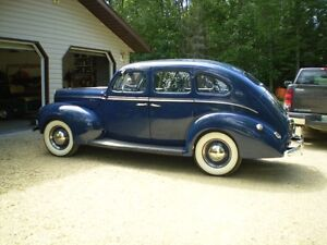 restored 1940 ford 4 door