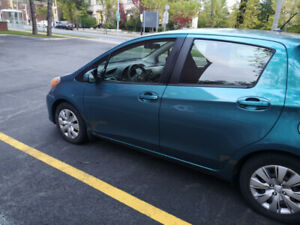 2012 Teal Yaris hatchback
