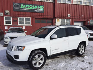 2015 Jeep Compass 4X4 North Edition, Leather seats!