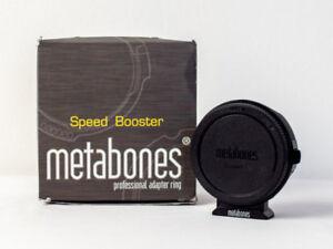 Metabones Speedbooster Ef to m43