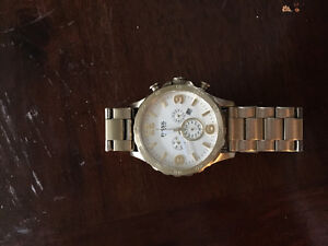 Gold fossil watch (Men's) London Ontario image 1
