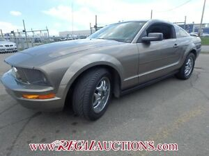 2005 FORD MUSTANG BASE 2D COUPE