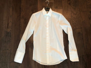 Versace Collection French Cuff Dress Shirt - Size 15/38