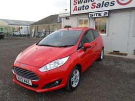 2013 13 FORD FIESTA 1.0 ZETEC 99 BHP - 42,330 MILES - FULL SERVICE HISTORY