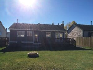 For rent Main level of a Single Family House in Dickinsfield