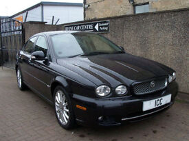 """08 08 JAGUAR X-TYPE 2.2 TURBO DIESEL EDITION """"S"""" 4DR LEATHER 17"""" ALLOYS AIRCON"""