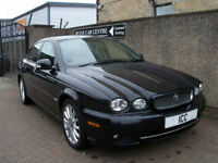 "08 08 JAGUAR X-TYPE 2.2 TURBO DIESEL EDITION ""S"" 4DR LEATHER 17"" ALLOYS AIRCON"